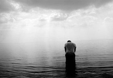 person i vattnet