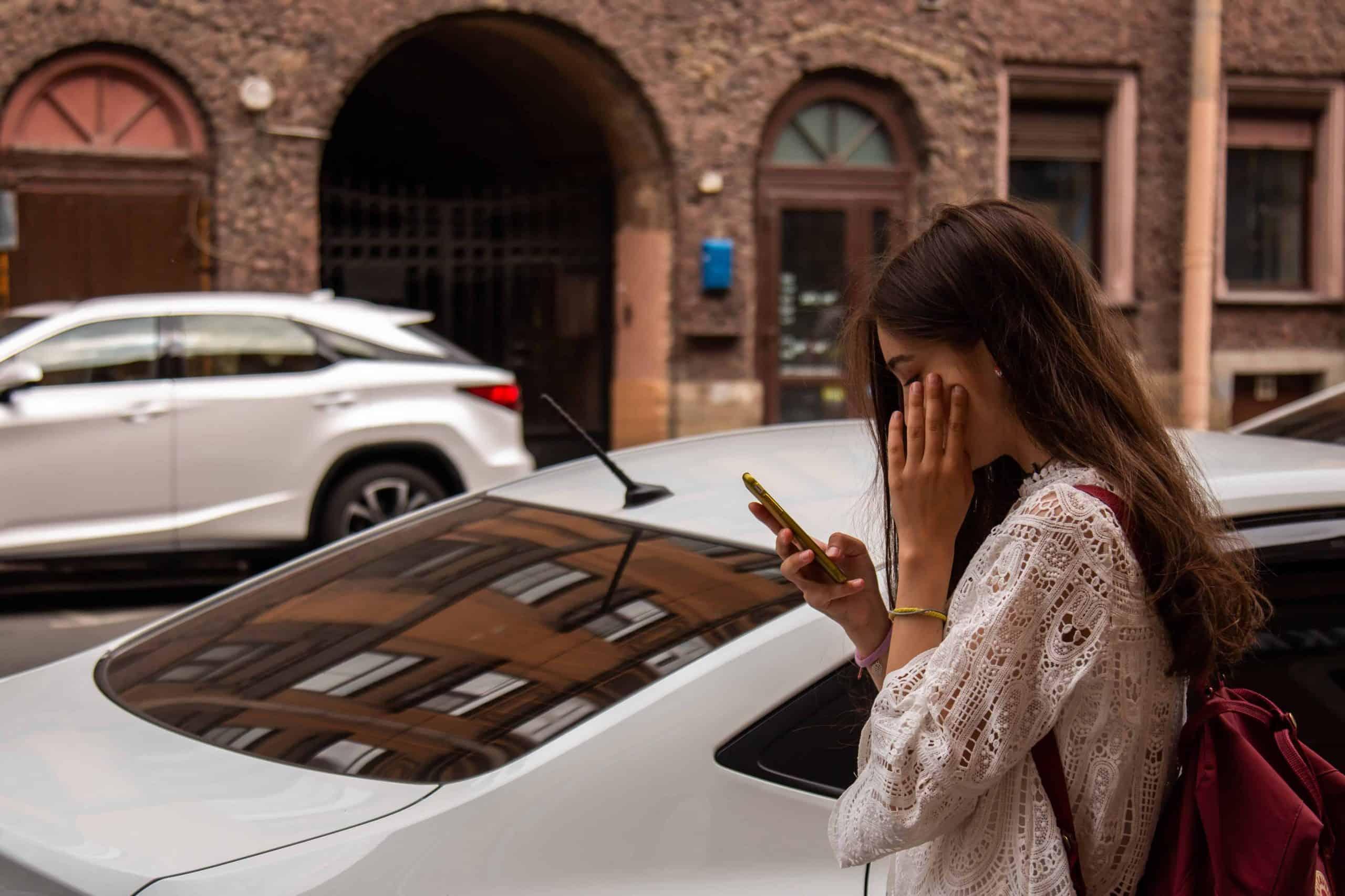 Flirten svarar inte på sms