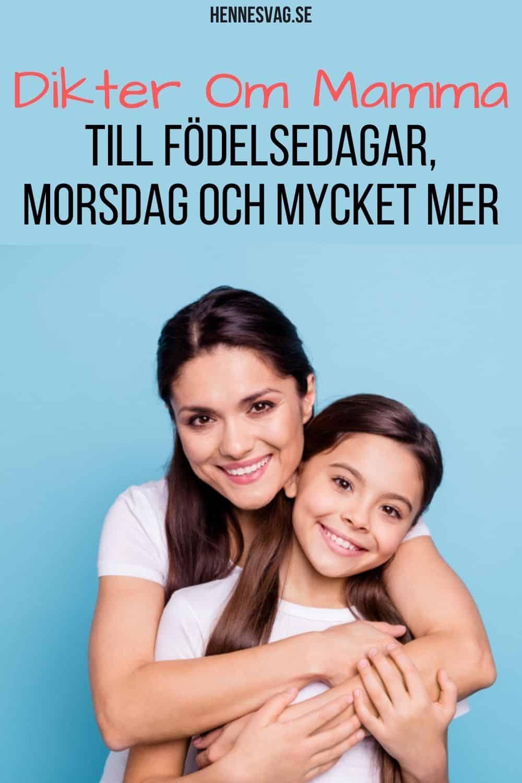 Dikter Om Mamma - Till Födelsedagar, Morsdag Och Mycket Mer